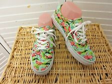 Vans Unisex Authentic Doren Flamingo Skate Shoes  Size 7 Women's MINT!