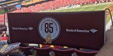 2017 Washington Redskins 85th Anniversary Hand Held Retractable Banner SGA Sign