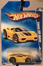 Hot Wheels 2008 All Stars Ferrari 360 Modena 28/36 Diecast Rare Yellow Black New