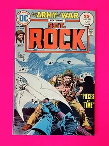 OUR ARMY AT WAR #282 (1975) SGT. ROCK DC WAR COMICS VF