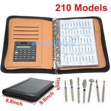 210 Pcs/ Models Dental Diamond Burs Demonstation Book 3 Pages
