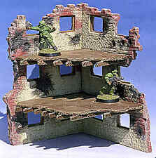 Armorcast 28mm Resin Terrain Three Story Snipers Position (4pcs) New Unpainted