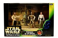 Star Wars Power of The Force Cinema Scenes - Purchase of The Droids Figure Set