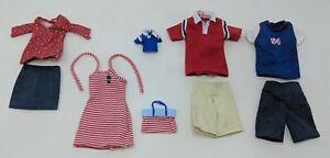 Barbie Happy Family Fashions Midge Alan Ryan Nikki Clothes Clothing Sport VTG