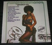 Mongo Santamaria ‎- Mongo Santamaria's Greatest Hits LP 1975 Afro Cuban Jazz