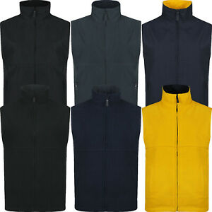 Womens Gilet Ladies Fleece Body Warmer Reversible Zip Up Vest Sleeveless Jacket