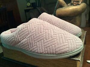 dearfoam slippers 9-10 large new
