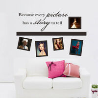 DIY Removable Picture Photo Frame Wall Sticker Wall Decal Home Room Decor New