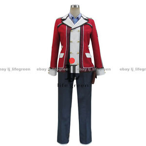 The Legend of Heroes: Trails of Cold Steel Rean Schwarzer Cloth Cosplay Costume