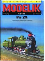 ORIGINAL PAPER-CARD MODEL KIT - Px 29