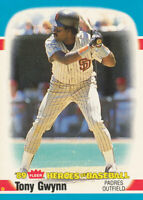 Tony Gwynn 1989 Fleer #20 San Diego Padres baseball card
