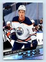 2020-21 Upper Deck Young Guns Philip Broberg RC #204