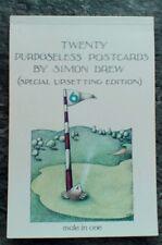 Twenty Purposeless Postcards (Special Upsetting Edition) by Simon Drew