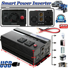 2000/4000Watt Power Inverter 12V DC to 110V AC Adapter Charger for Truck RV Cars