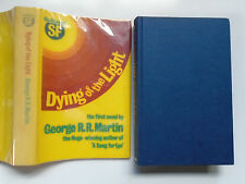 Dying of the Light, George R R Martin, 1st Novel, SIGNED, 1st British, 1977