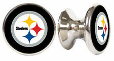 PITTSBURGH STEELERS NFL DRAWER PULLS / CABINET KNOBS
