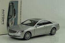 2006 Mercedes-Benz CL C215 Class Klasse Coupe silver silber 1:18 Autoart