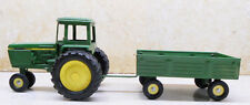 COLLECTIBLE ERTL TRACTOR AND WAGON #74-7650 JOHN DEERE DYERSVILLE IOWA U.S.A(8)