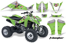 ATV Decal Graphic Kit Wrap For Suzuki LTZ400 Kawasaki KFX400 2003-2008 TBOMBER G