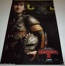 How To Train Your Dragon 2 Original Movie Promo Poster 13x20 Size Free Shipping