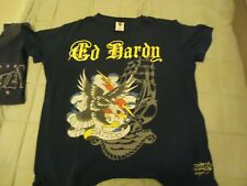 ED HARDY T-SHIRT! VINTAGE COLLECTORS SHIRT!! REALLY COOL DESIGN! XL GREAT FIT!!!