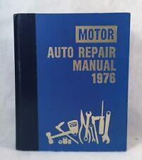 MOTOR Auto Repair Manual 1976 39th Edition