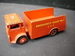 Winross Emergancy No.1  Red Fire Truck Toy