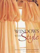 Windows With Style DIY Window Treatments New Book Style Home Decor How To Book