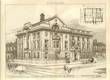 1907 Engineers And Shipbuilders Institute Glasgow John D Wilson Architect
