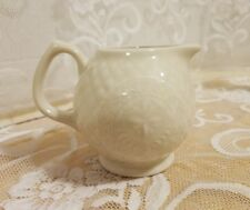 Longaberger American Craft Ivory Creamer from 2004 Very Good Pre-Owned Condition