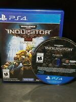 Warhammer 40,000 (40k) Inquisitor Martyr Sony PlayStation 4 PS4