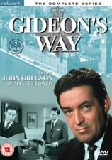 GIDEON'S WAY the complete series. 7 discs. New sealed DVD.