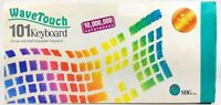 SIIG WaveTouch 101 Clicky Keyboard JVP6511-T with original box Wave Touch