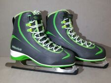NEW Riedell 625 Soar, Soft Figure Ice Skates Gray/Green Size Women's 11