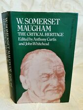 Book Of W. Somerset Maugham The Critical Heritage - 1987