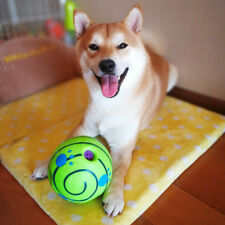 Funny Wobble Wag Giggle Large Dog Ball Toys Squeaky Sound Ball Dog Chew Bite Toy