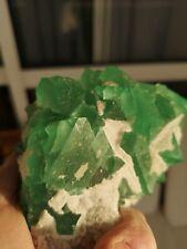 Belle pièce de Fluorite cristallisée en octaèdres