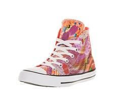 Converse Women's Size 8 Chuck Taylor All Star Digital Floral Hi Sneakers Shoe