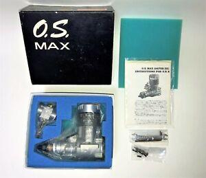 OS MAX 108 FSR BX-1 Ringed RC Model Airplane Engine w/ 7D Carb  N.O.S