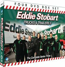 EDDIE STOBART TRUCKS & TRAILERS 3 - COMPLETE SERIES THREE - 4 DVD BOX SET