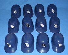 Tampa Bay Rays 12 Mini Batting Helmet Ice Cream/Snack Bowls ~ each used once