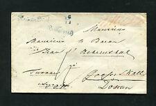 """Österreich Vorphila - """"B. Teinitz"""" blauer L1 auf Brief um 1847   (#1600)"""