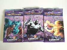 DUEL MASTERS TRADING CARD GAME RAMPAGE OF THE SUPER WARRIORS x3 PACK DM-03