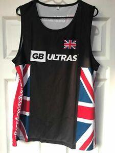 Team GB  Gym Running vest new - M