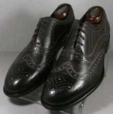 241502 FTi60 Men's Shoes Size 10 Made In Italy Brown Lace-Ups Johnston Murphy