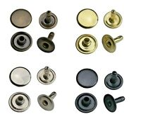 Hohlnieten Einzelkopf 6mm, 7mm, 9mm, 12mm Stahl, Leder, Textilien, Taschen,Stoff