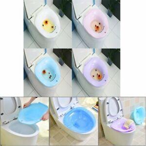 Portable Hemorrhoid Therapy Sitz Bath Toilet Bidet Tub for Pregnant Patient QZ