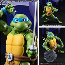 TMNT TURTLES Teenage Mutant Ninja Turtles Leonardo SHF Action Figur Alloy IB