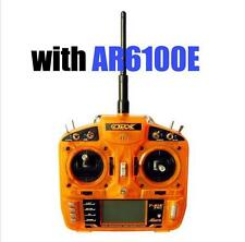 HOBBYKING OrangeRx T-SIX 2.4GHz 6CH Transmitter with AR6100E RX MODE 2 bid DX6i