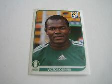2010 PANINI SOCCER WORLD CUP VICTOR OBINNA STICKER #141***NIGERIA***